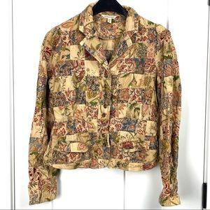Ralph Lauren Polo Patchwork medium cotton blazer